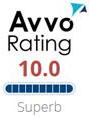 Avvo Rating 10.0